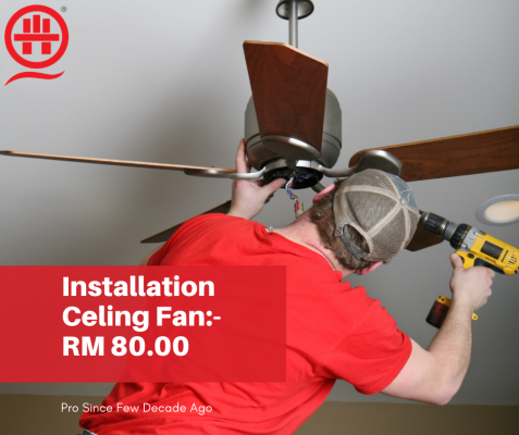Where Is The Best Installation Ceiling Fan? Call Expert Now