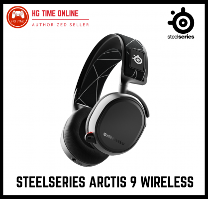Steelseries Arctis 9 Wireless Gaming Headset for PC   SteelSeries Bluetooth Ready Stock