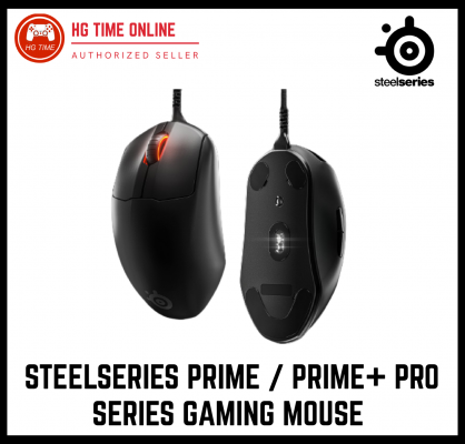 Steelseries Prime Pro Series Gaming Mouse / Prime+ Tournament-Ready / SteelSeries Prime +