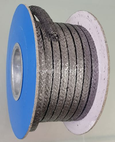 Pure Graphite Packing With Inconel Wire PK2038PW For Valve