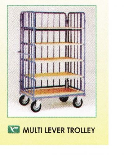 MULTI LEVER CAGE TROLLEY
