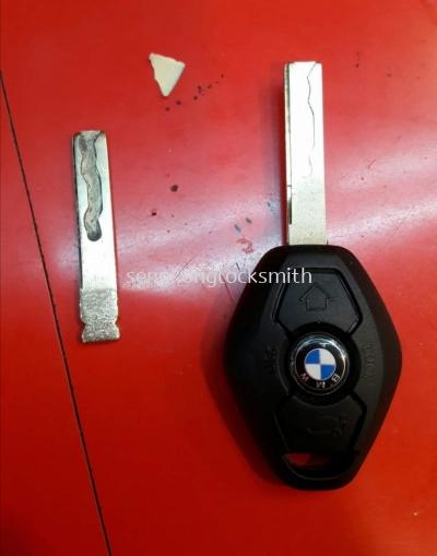 BMW car control casing