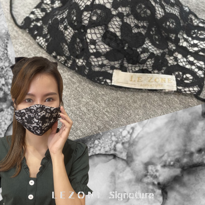 3260 LEZONE Protective 3-Layer Washable Fashion Mask��Limited Collection��