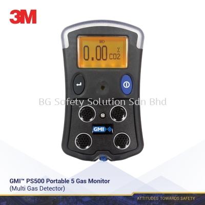 3M GMI PS500 PORTABLE MULTIGAS DETECTOR