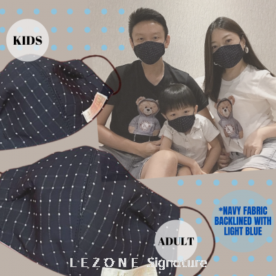 3265 LEZONE Protective 3-Layer Washable Fashion Mask��Limited Collection��