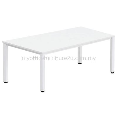UR1560  U Leg with Rectangular Table 1500L x 600D x 750H mm (White)