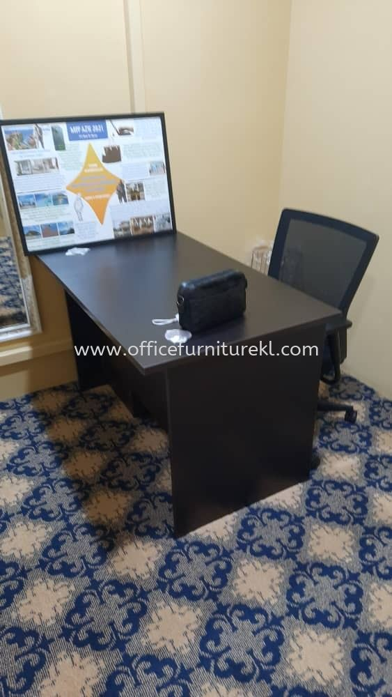 FREE DELIVERY & INSTALLATION WRITING OFFICE TABLE EXT 127 l EDEX OFFICE MESH CHAIR l OFFICE FURNITURE l PUSAT PERDAGANGAN ONE l PUCHONG l TOP 10 MUST BUY