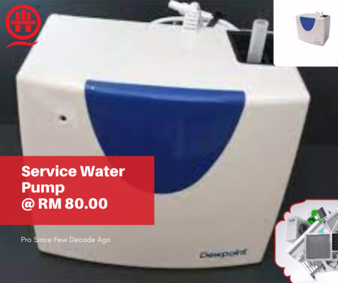 Book Now! If You Want Service Aircon Water Pump?