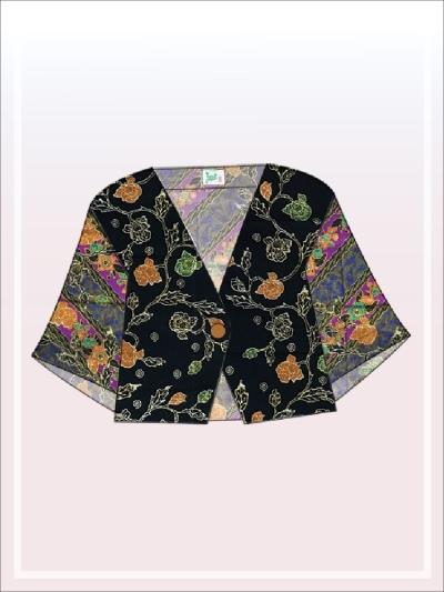 K021 Batik Crop Top