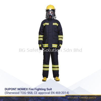 Dupont Numex Fire Fighting Suit