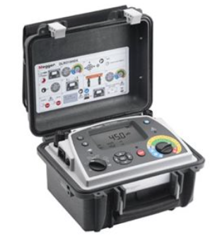 MEGGER DLRO10HDX DUAL POWER 10 A MICRO-OHMMETER WITH RESULTS STORAGE AND DOWNLOADING