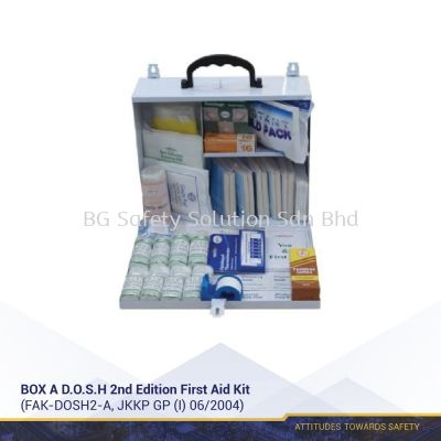D.O.S.H 2nd Edition First Aid Kit