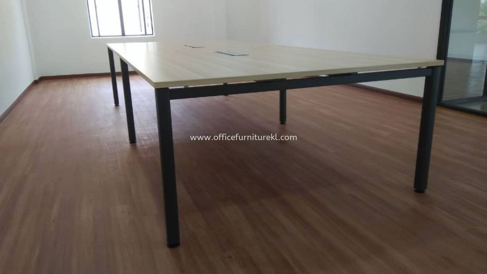 FREE DELIVERY & INSTALLATION MUPHI MEETING OFFICE TABLE SVB 30 l RECTANGULAR TABLE OFFICE FURNITURE l GOMBAK l KUALA LUMPUR l TOP 10 BEST RECOMMEND
