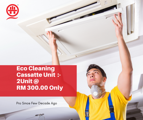 Cassette Air Conditioning Proven Servicing 2unit @ RM300.00 In KL,Sel,Putrajaya