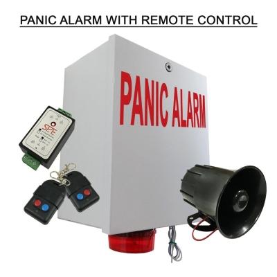 Panic Alarm with remote control