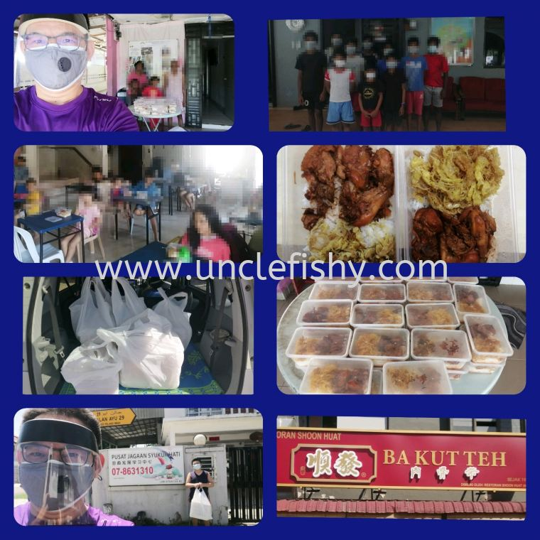 CHARITY LUNCH FOR SHELTER HOMES (23-06-21)