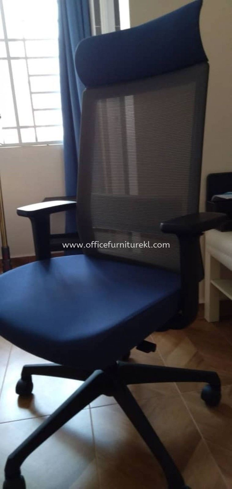FREE DELIVERY & INSTALLATION ROYSES OFFICE MESH CHAIR l ERGONOMIC CHAIR OFFICE FURNITURE l TAMAN DESA l KUALA LUMPUR l TOP 10 MOST COMFORTABLE