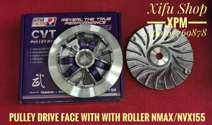 UMA PULLEY DRIVE FACE NMAX /NVX155 WITH ROLLER 02P00870 UMALJHEE