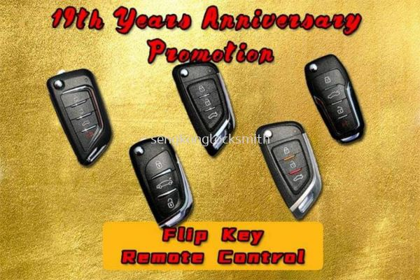 19th Anniversary Promotion