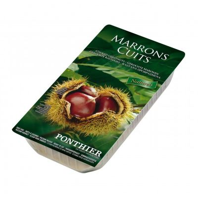 PONTHIER COOKED CHESTNUTS - WHOLE 400G