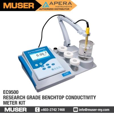 EC9500 Research-grade Benchtop Conductivity Meter Kit   Apera by Muser