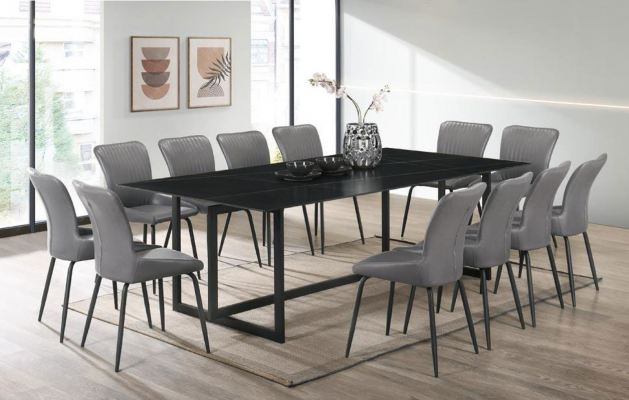 Ceramic Table Dinning Set Table with Chairs