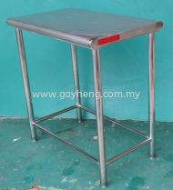 Stainless Steel 2 Tier Table 白钢2层桌子