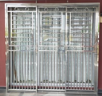 Stainless Steel 3 Sliding Door Grille 3Ҷ������