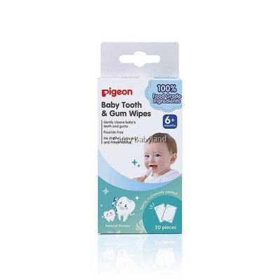 PIGEON - TOOTH & GUM WIPES 20'S NATURAL - PG37782906