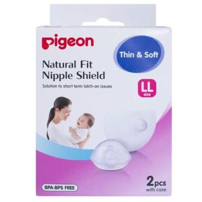 PIGEON - NATURAL NIPPLE SHIELD LL 2S - PG15785242