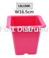 16.5cm Pasu Pokok Bunga Flower Pot - LSL150C (Random Colour) Flower Pot & Tray Gardening