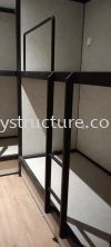 To customised fabrication,supply and install bedstead mild steel powder coated @ Jalan Kristal L7/L, Seksyen 7, 40000 Shah Alam. Metal Furniture
