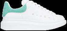 Alexander McQueen Oversized Sneaker 'White Teal' Alexander McQueen White Sneakers Alexander McQueen Sneakers