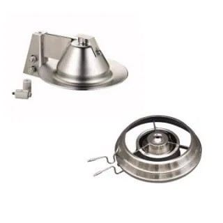 Replacement Baffles and Cold Caps for Diffusion Pumps - Agilent / Varian Diffusion Pump Accessories