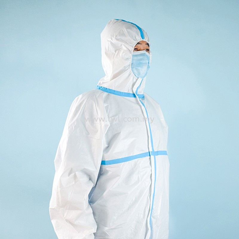 Isolation Coverall Suit