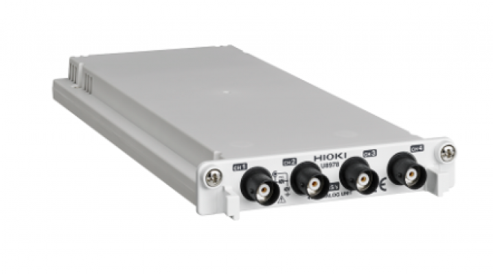 HIOKI U8978 Isolated 4-channel input module to measure multiple points simultaneously