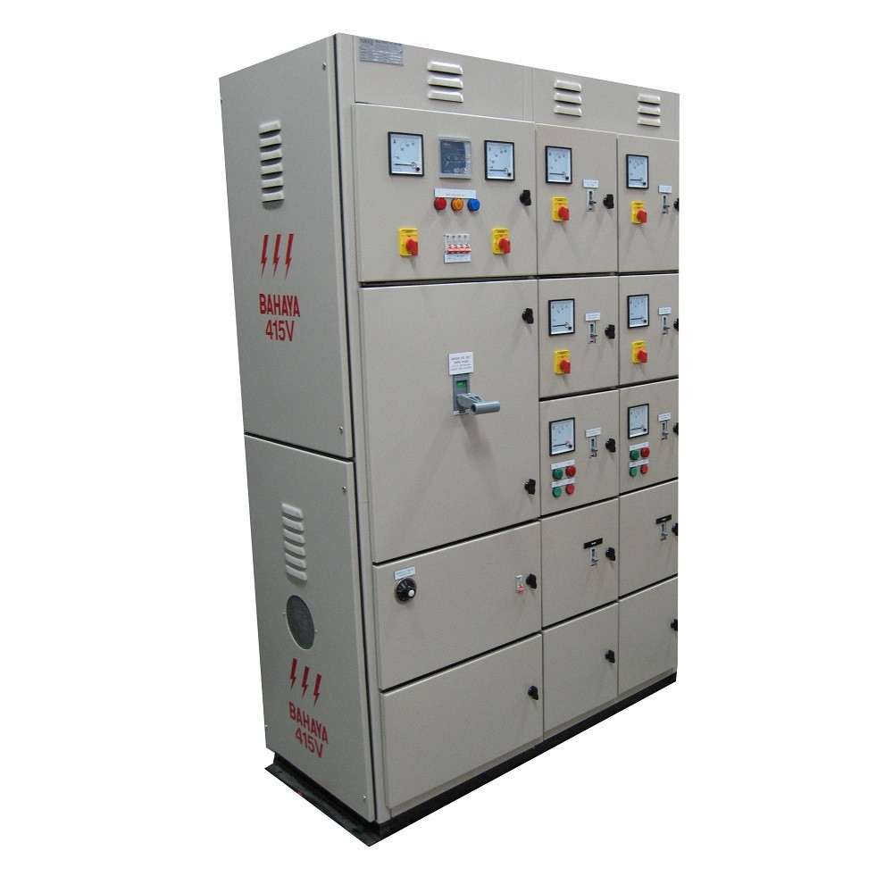 2.5mm Size Electrical Equipment Power Distribution Equipment Stainless Steel MCC