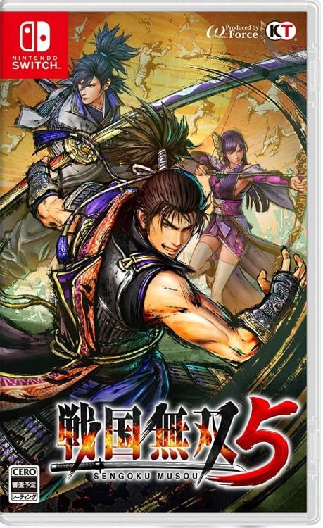 Nintendo Switch Sengoku Musou 5(ASIA)Chinese