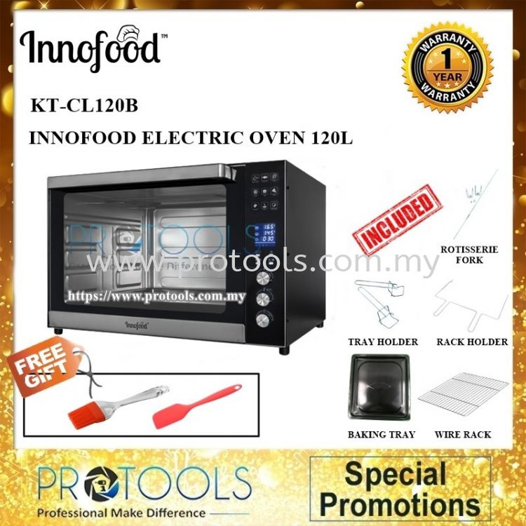 INNOFOOD KT-CL120B ELECTRIC OVEN 120L