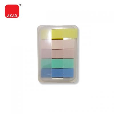 (5 Colours Rectangular + Hardcover) Index Note / Stick on Note / Sticky Note / Sticky Taps (PET958)