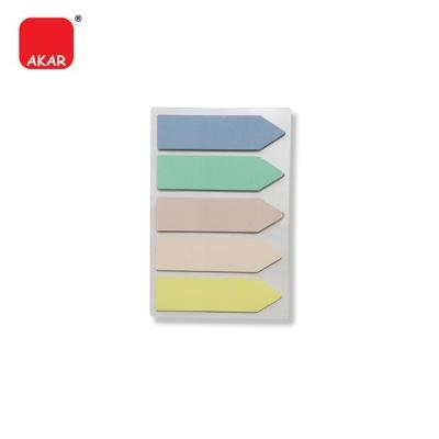 (5 Colours Arrow) Index Note / Stick on Note / Sticky Note / Sticky Taps (PET9142)