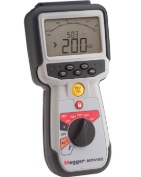 MEGGER MIT415/2 and MIT417/2 CAT IV INSULATION TESTERS
