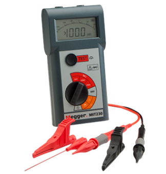 MEGGER MIT200 Series POCKET SIZED INSULATION AND CONTINUITY TESTERS