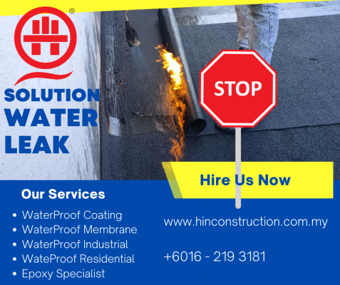 The A - Z Of Waterproofing Solution. Call Now!
