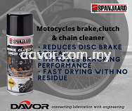 Cleaning spray for use on drum or disc brakes,brake cables, rotors,chains and disc pad/drum lining
