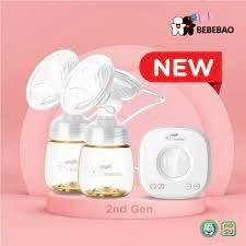BEBEBAO -  DOUBLE RECHANRGEABLE ELECTRIC BREAST PUMP - BB-6018S