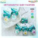 MALISH - ORTHODONTIC BABY PACIFIER - S,M,L size - MAL1014,1015,1016