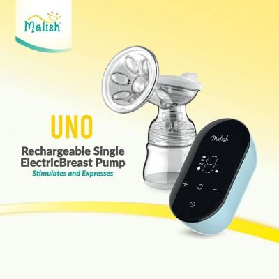MALISH - UNO RECHARGEABLE SINGLE ELECTRIC PUMP - 2yrs warranty