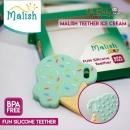 MALISH - FUN SILICONE TEETHER ICE CREAM - MAL1031