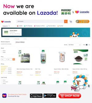 Now we are available on Lazada!